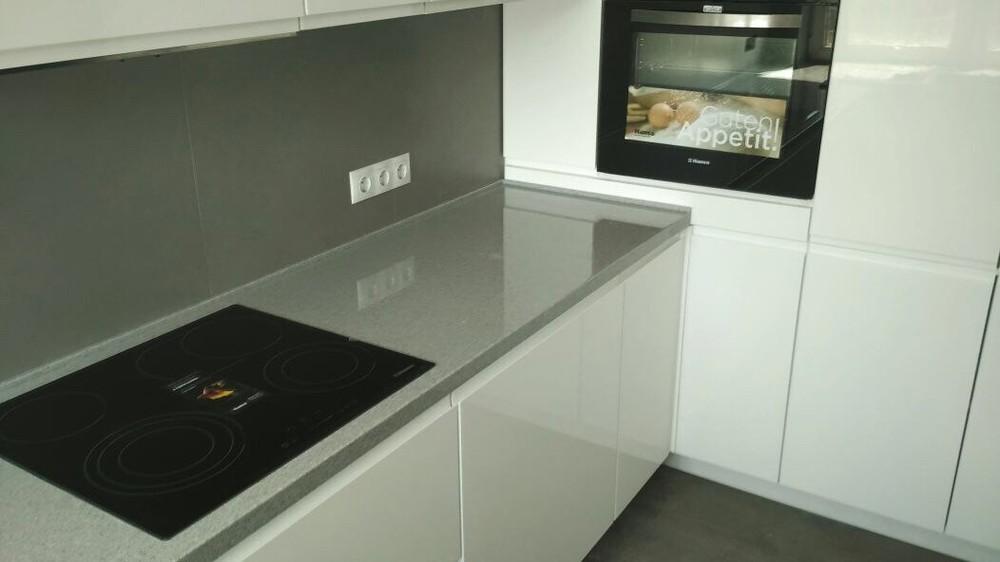 Акриловые кухни-Кухня МДФ в эмали «Модель 85»-фото2