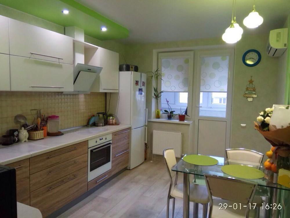 Встроенная кухня-Кухня МДФ в ПВХ «Модель 220»-фото4