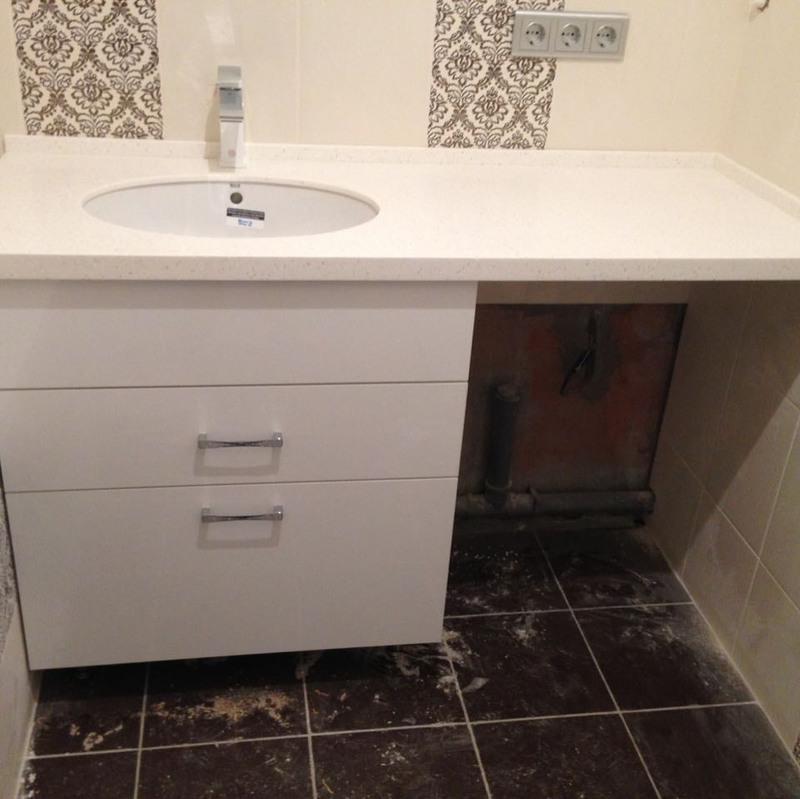 Мебель для ванной комнаты-Мебель для ванной «Модель 11»-фото1