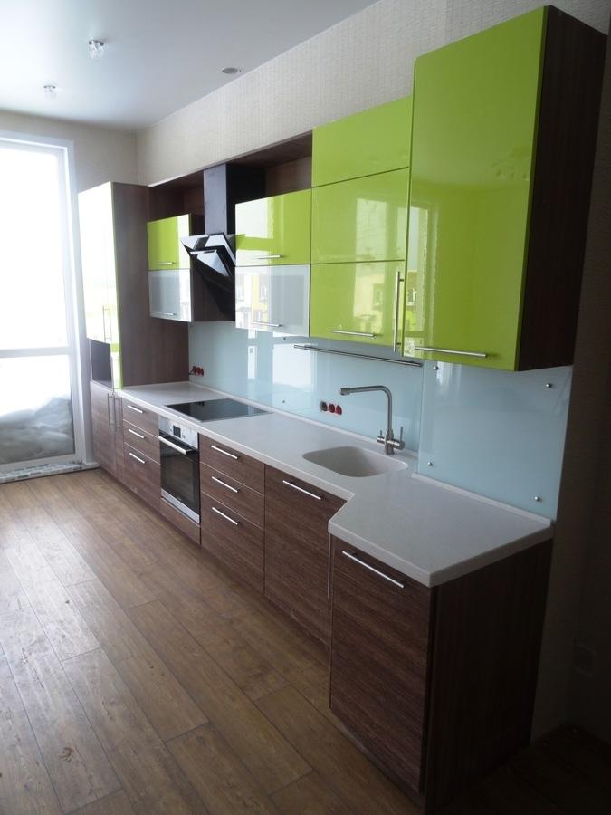 Встроенная кухня-Кухня МДФ в ПВХ «Модель 512»-фото3
