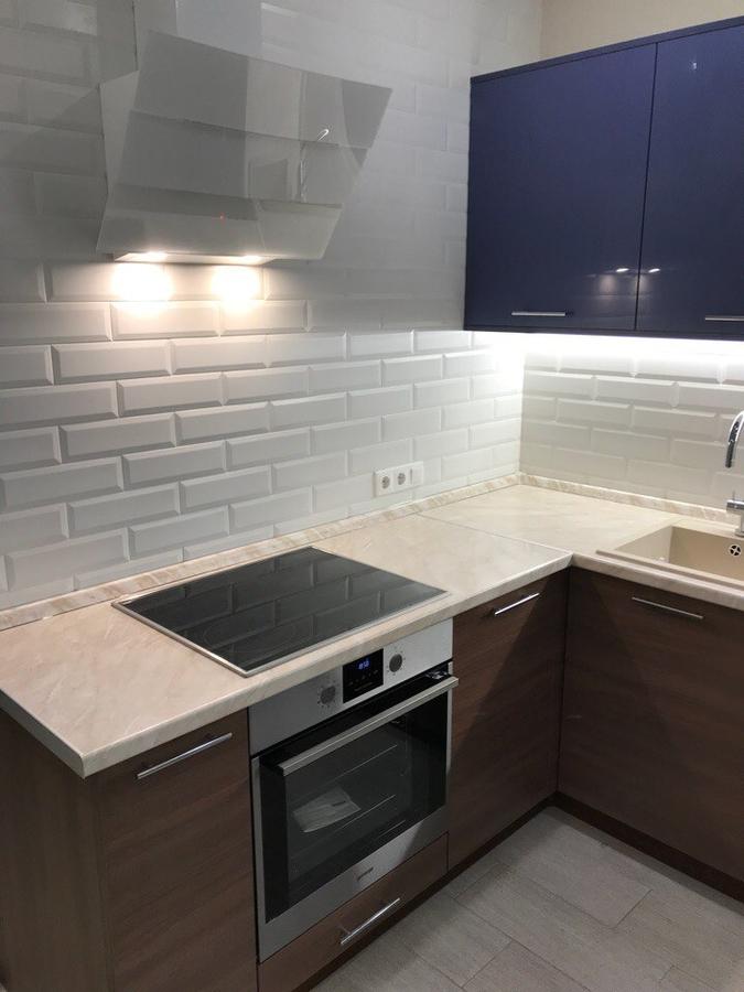 Купить кухню-Кухня из пластика «Модель 434»-фото3