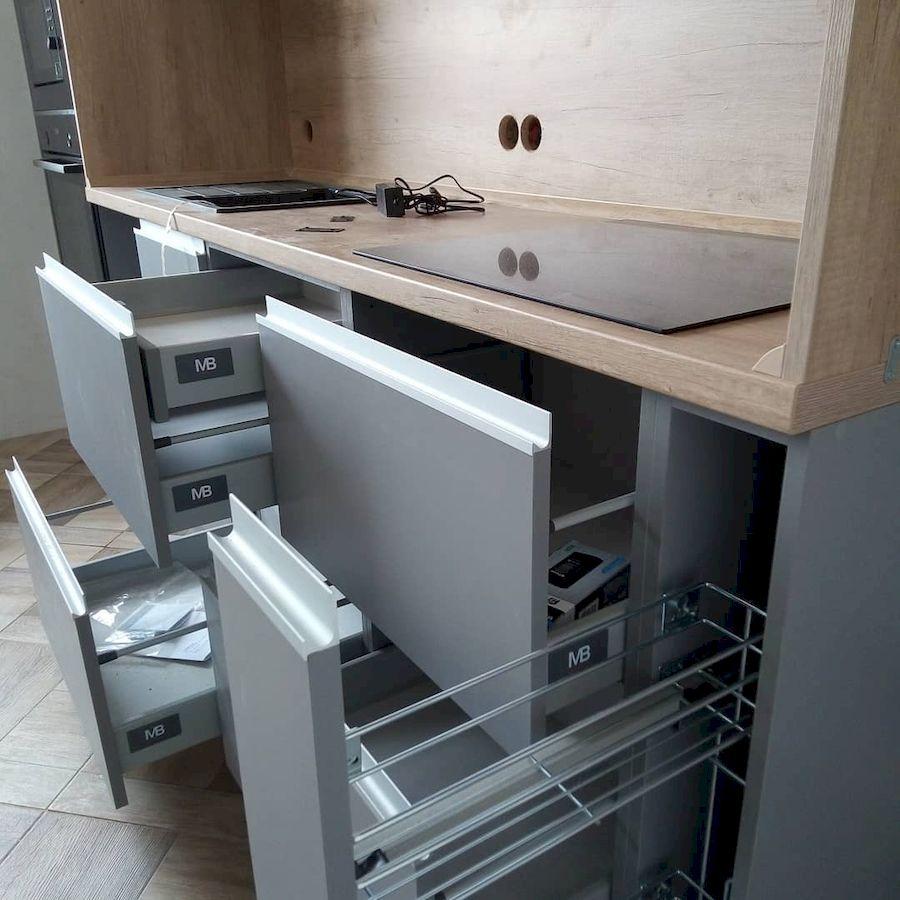 Встроенная кухня-Кухня из ЛДСП «Модель 652»-фото4