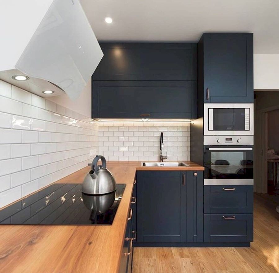 Классические кухни-Кухня МДФ в эмали «Модель 667»-фото2