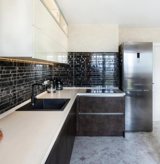-Кухня из акрила «Модель 412»-фото25