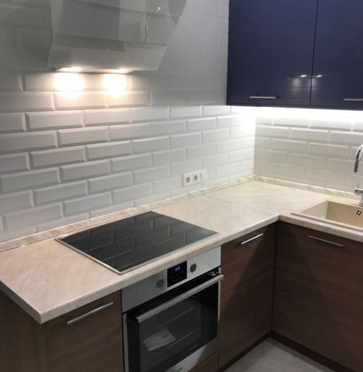 Купить кухню-Кухня из пластика «Модель 434»-фото4