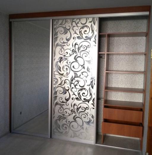 -Шкаф-купе с пескоструйным рисунком «Модель 244»-фото12