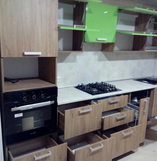 -Кухня из пластика «Модель 355»-фото8