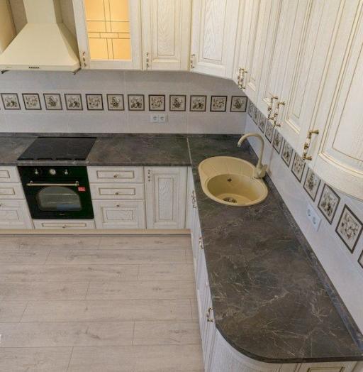 -Кухня из шпона «Модель 562»-фото26